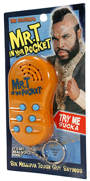 Mr T In Your Pocket
