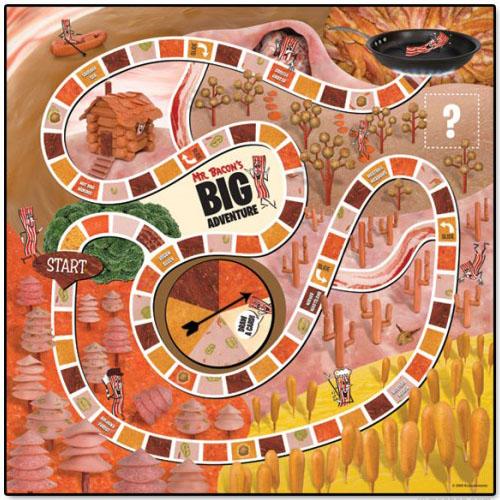 Mr. Bacon's Big Adventure Board Game