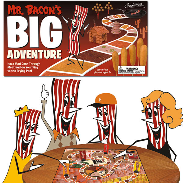 Mr. Bacon's Big Adventure Game