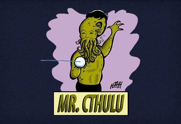 Mr. Cthulu T-Shirt