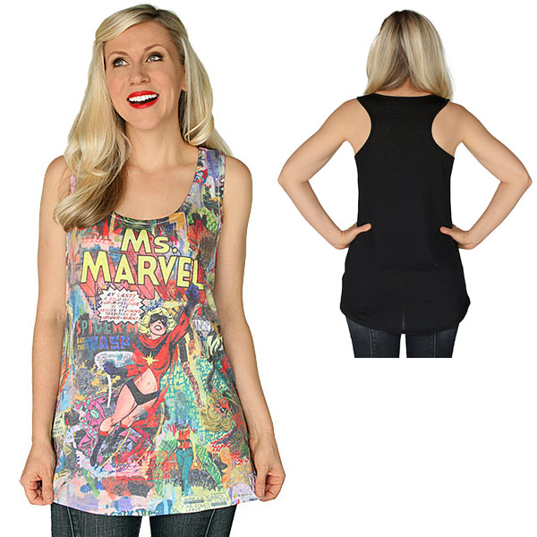 Ms. Marvel Womens Tank Top