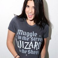 Muggle In The Streets Wizard In The Sheets Womens T Shirt