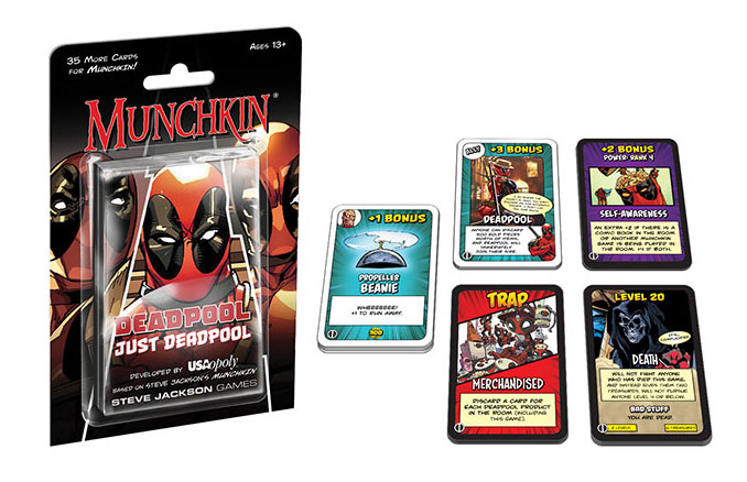 Munchkin Deadpool Expansion Pack