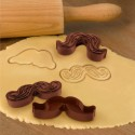 Munchstache Cookie Cutter