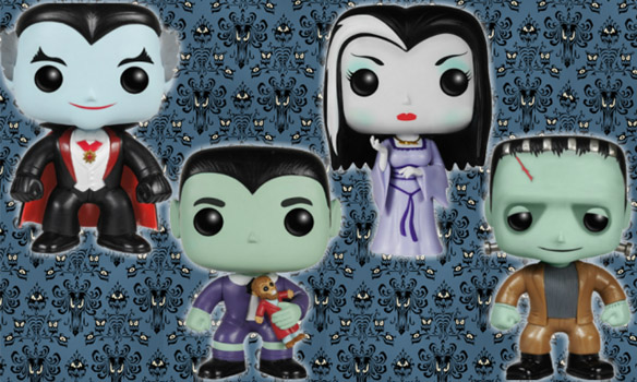 Munsters Pop Vinyl Figures