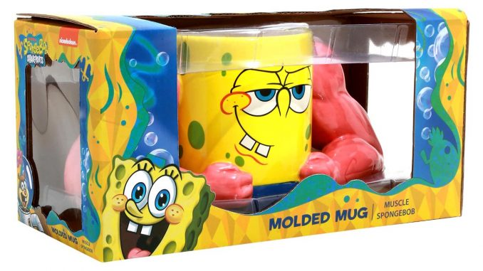 Muscle SpongeBob SquarePants Molded Mug