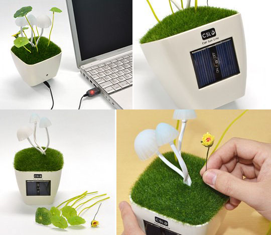 Mushroom USB Lamp