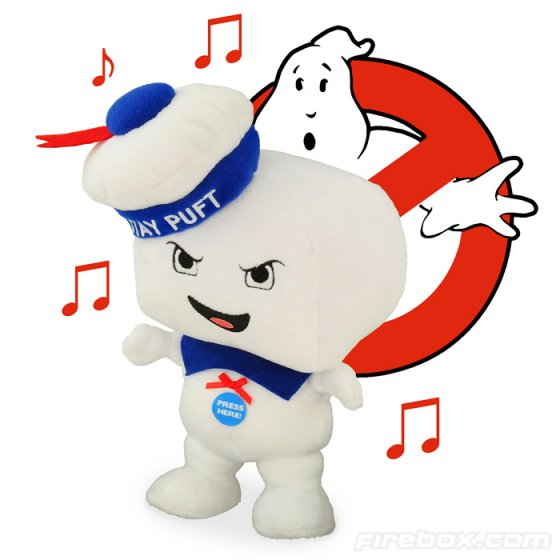 "Musical 8.5"" Plush Stay Puft Marshmallow Man"