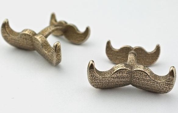 Mustache Cufflink