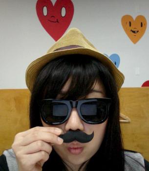 Mustache Eraser Set