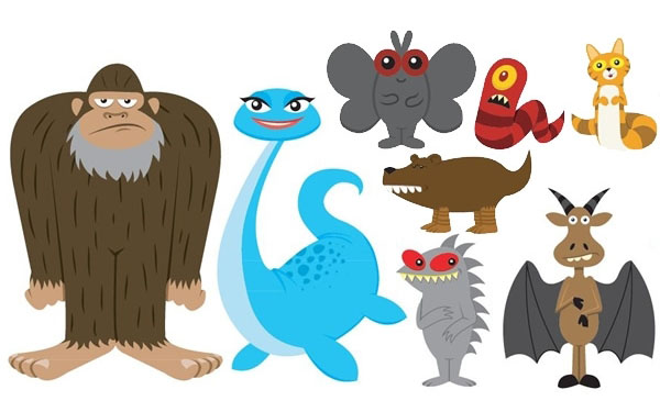 My Cryptozoological Family - Family Car Stickers