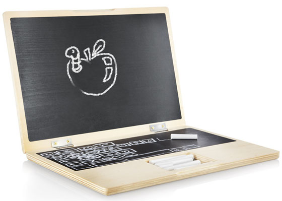 My First Wooden Laptop