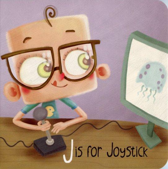 My Little Geek ABC Book