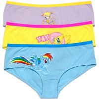 My Little Pony 3-pack Panties