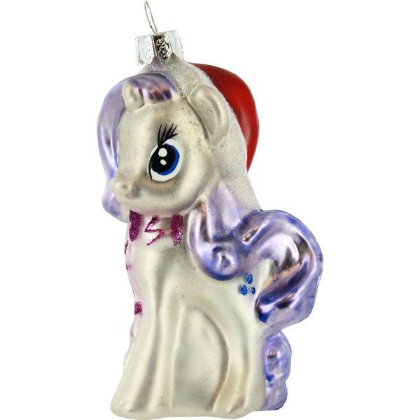 My Little Pony Glass Christmas Ornament