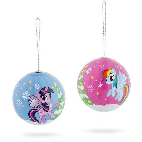 Little Pony Holiday Ornament Set