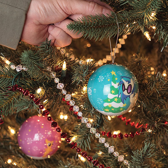 My Little Pony Holiday Ornaments
