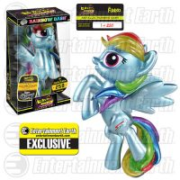 My Little Pony Metallic Rainbow Dash Hikari Sofubi Vinyl Figure