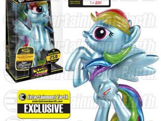 My Little Pony Metallic Rainbow Dash Hikari Sofubi Vinyl Figure