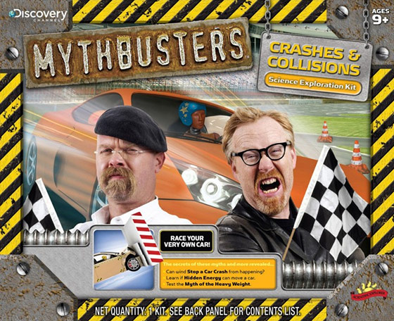 MythBusters Crashes and Collisions Science Kit