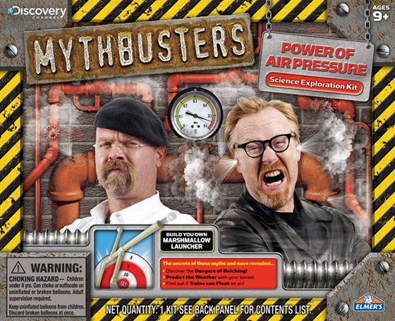 MythBusters Power of Air Pressure Science Kit
