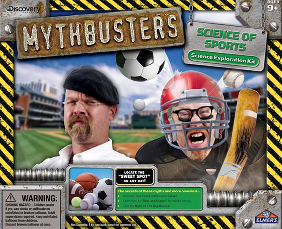 MythBusters Science of Sports Kit