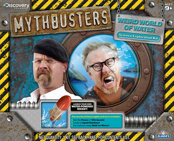 MythBusters Weird World of Water Science Kit