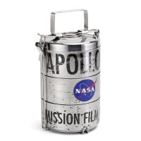 NASA Apollo 11 Film Reel Canister Lunch Box