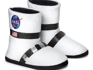 NASA Astronaut Boot Plush Slippers