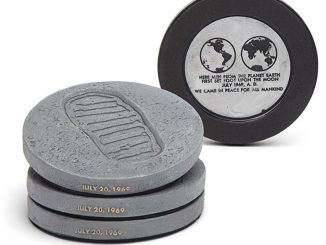 NASA Lunar Bootprint Coasters