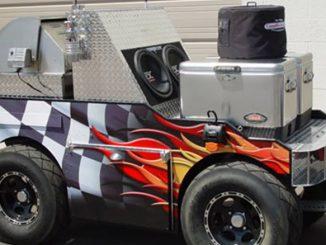 NASCAR BBQ Grill