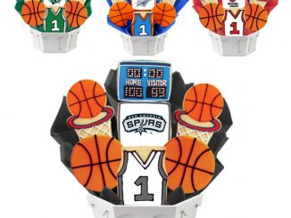 NBA Cookie Gift Baskets