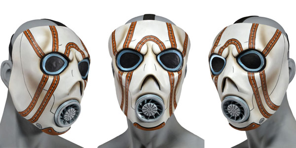 NECA Borderlands Psycho Bandit Latex Mask