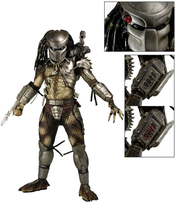 NECA Predator Jungle Hunter Quarter Scale Action Figure