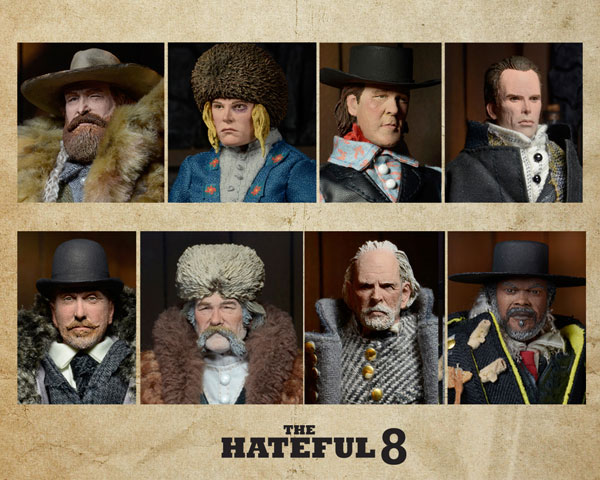 NECA The Hateful Eight Action Figure Set