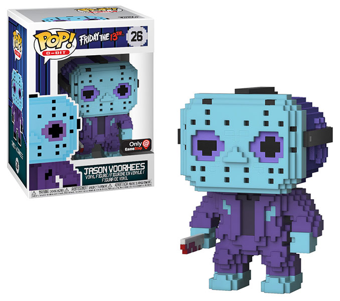 NES 8-Bit Jason Voorhees Funko POP! Vinyl Figure