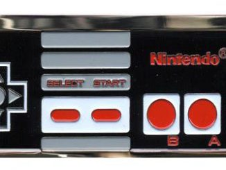 NES Belt Buckle