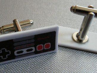 NES Controller Cufflinks