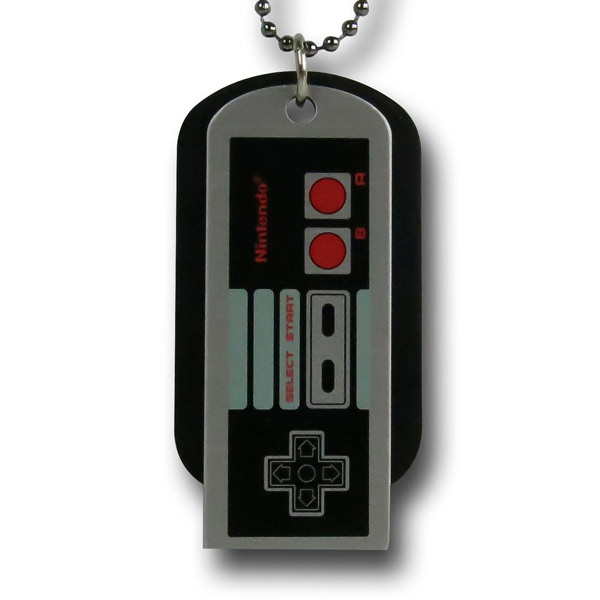 NES Controller Dog Tags