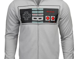 NES Controller Track Jacket