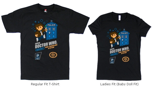 NES Doctor Who Shirt
