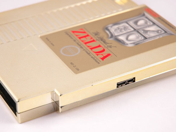 NES Hard Drive - The Legend of Zelda - 500GB USB 3.0