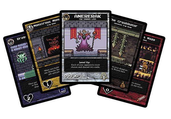NES Styled Boss Monster Dungeon Building Card Game
