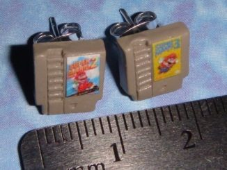 NES game earrings