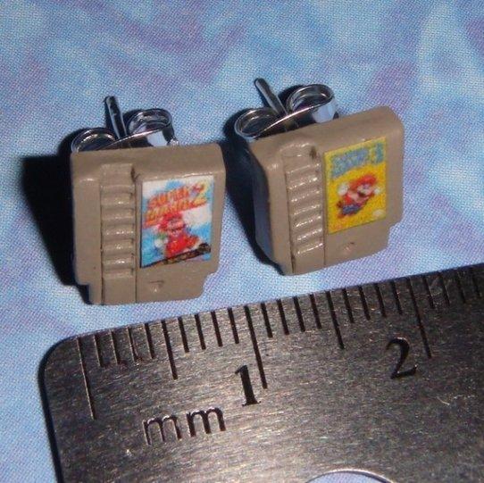 NES game earrings