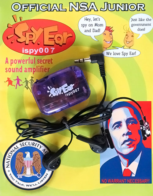 NSA Junior Spy Ear Listening Device