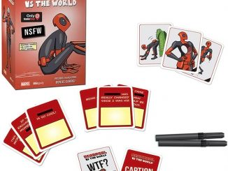 NSFW Deadpool vs The World Card Game