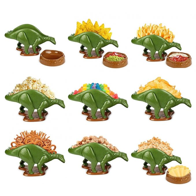 Nachosaurus Dinosaur Snack Bowls