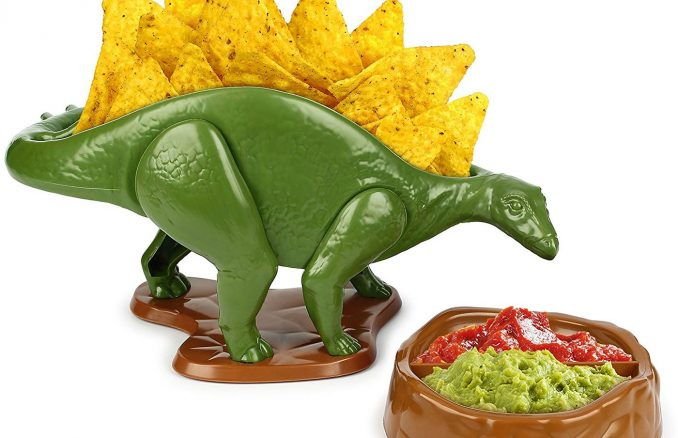 Nachosaurus Dip and Snack Bowls