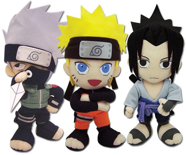 Naruto Shippuden Plush Figures